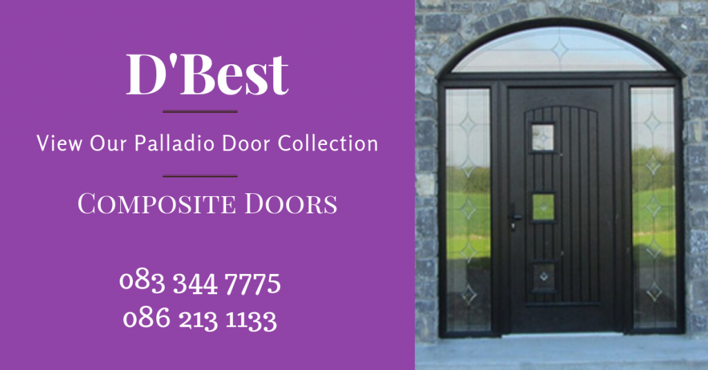 Palladio Composite Doors: We are proud to present the Palladio Composite Door. We believe that the Palladio Door Collection is the finest composite door on the market today, not only has it taken 10 years of research a new design approach gave homeowners a breath of fresh air in their search for a new and innovative design and security which is 2nd to none.